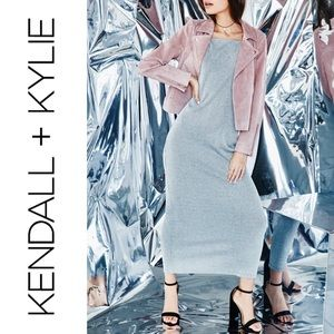 Kendall & Kylie Shimmery Maxi Dress Medium